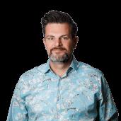 tekstschrijver zorg Jeroen Fidder